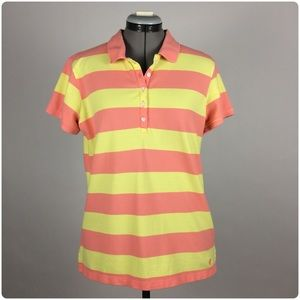 Izod 5-button Stretch Polo Tee
